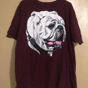 MSSTATE Bulldog Adidas T